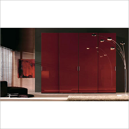 German Hi Gloss Acrylic Modular wardrobe