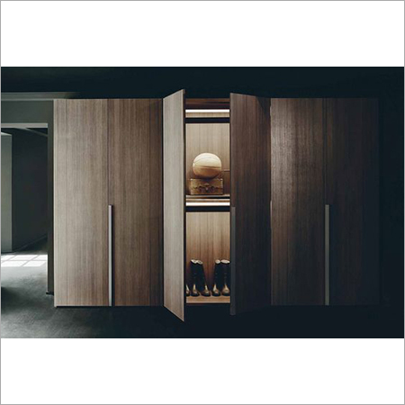Veneer Finish Modular Wardrobes