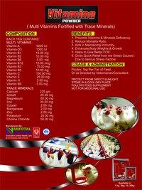 Geflügel Multivitamin Zufuhr-Ergänzung (Vitamino Puder)