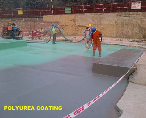 Polyurea Waterproofing Coating Services