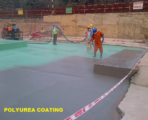 Polyurea Waterproofing Coating Services