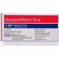 6-MP Mercaptopurine 50mg Tablet