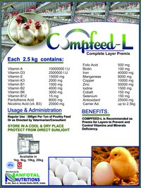 Poultry layer Complete Layer Feed Premix (Compfeed - L)