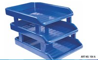 Document Plastic File Tray