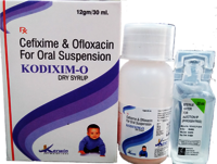 CEFIXIME + OFLOXACIN