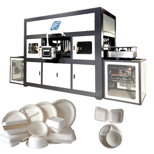 Disposable Bamboo Pulp Plate Machine