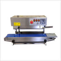 Vertical Continuous Band Sealing Machine
