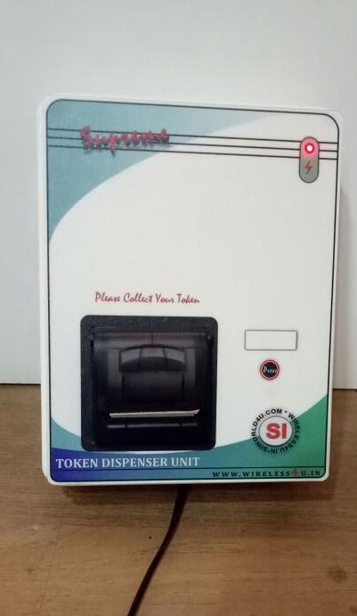 OPD Token dispenser