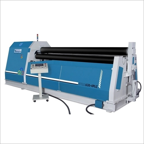HYDRAULIC 4ROLL PRE PINCH PLATE BENDING MACHINE