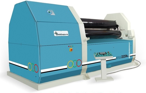 HYDRAULIC 3ROLL PRE PINCH PLATE ROLLING MACHINE