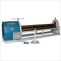 Plate Rolling & Bending Machine