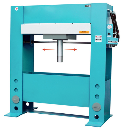 MOVABLE CYLINDER HYDRAULIC PRESS