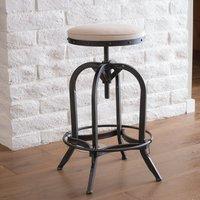 Industrial Revolving Bar stool