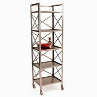 Industrial Cross Bookshelves