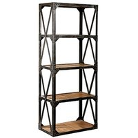 Industrial Big Cross Bookshelves