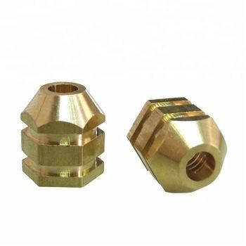Brass Knob Inserts