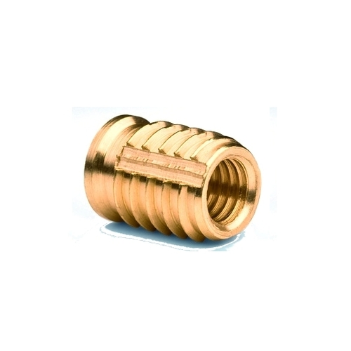 Brass Hacked female insert