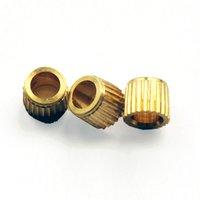 Brass Broad Knob Inserts