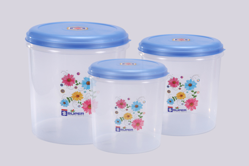 Plastic Container Coral Set