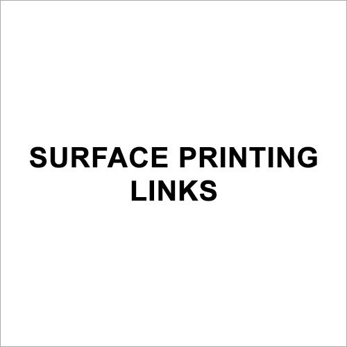 Surface Printing Inks