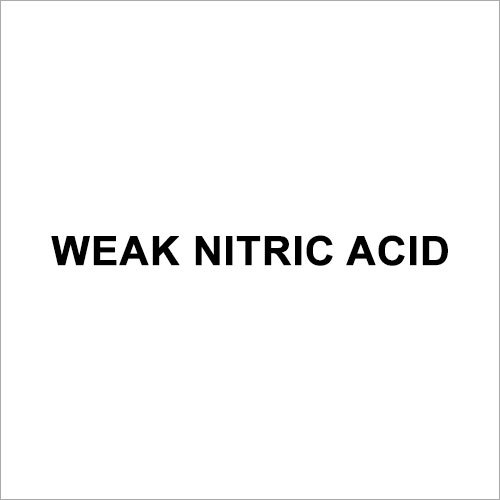 Weak Nitric Acid