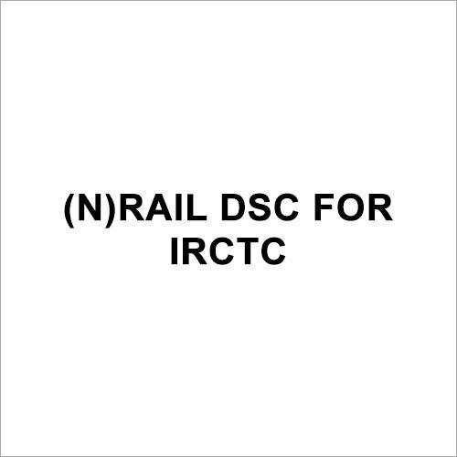 (n)Rail DSC for IRCTC