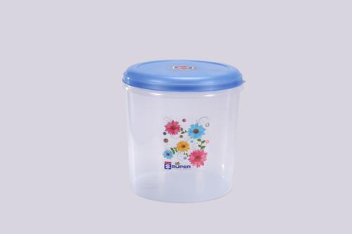 7 Ltr. Plastic Container C- Thru