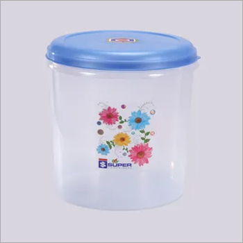 10 Litre Plastic Container See Through/Transparent