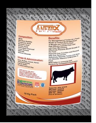 Animal Feed Toxin Binder (Anfatox Premium)