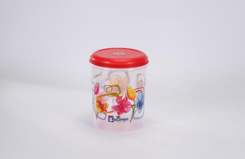 3 Ltr. Plastic Container C - Thru printed