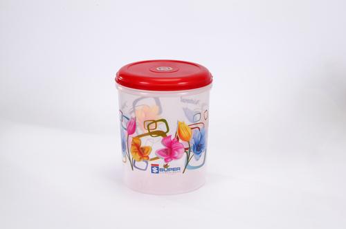 5 ltr. Plastic Container C - thru Printed