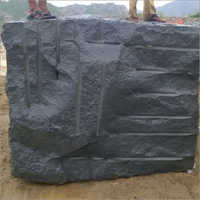 Black Galaxy Granite Block