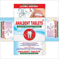 Analdent Dental Pain Relief Tablets