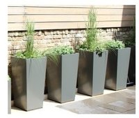 Four Planter For Coated Tapered Style Metal Planters