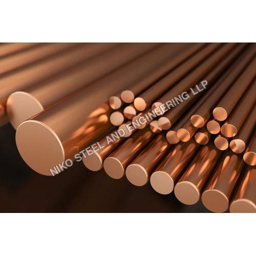 Copper alloy rod