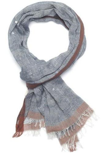 Cotton Silk Sequence Handwoven Scarves