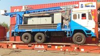 300 Meter Refurbished Truck Mounted Water Well Drilling Rig
