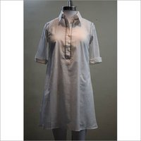 Cotton Khadi Long Top