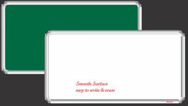 Deluxe White Non Magnetic Board