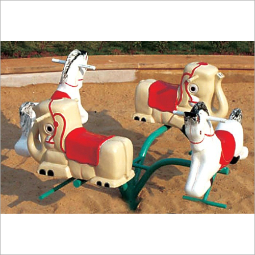 4 Seater Animal Seat Merry Go Round
