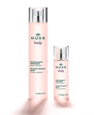 NUXE body Relaxing Fragrant Water 100 ML ,30 ML SPRAY-BOTTLE