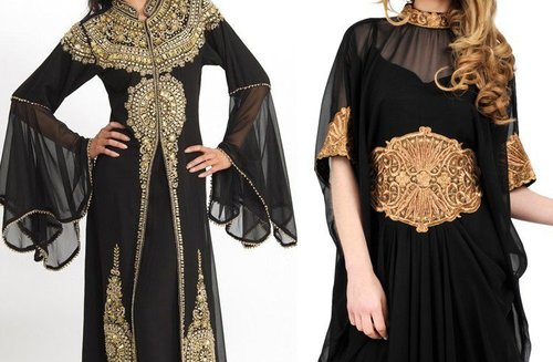 Embroidery Burkha Fabric