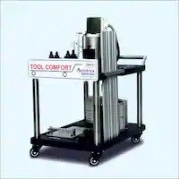 SS Automatic Blister Change Parts Trolley