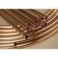 polished copper pipe