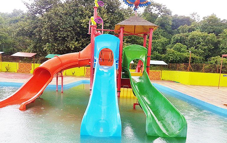 2 Platform Water Play System