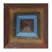 Natural Stone Seven Chakra Pyramid for vastu/Reiki & Meditation