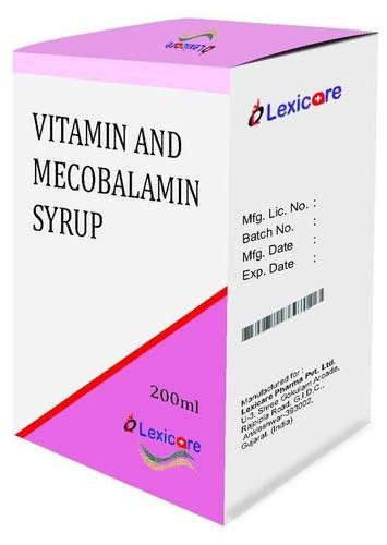 Vitamin And Mecobalamin Syrup Certifications: Who Gmp