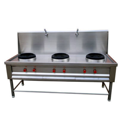 Chinese Three Burner