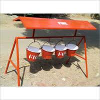 Sand Bucket & Bucket Stand