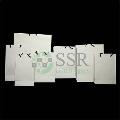 White Craft Paper Bags